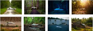 Andrew Brodhead's Floating images, thumbnails